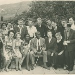 Claudia Jones Memorial Photograph CollectionClaudia Jones in a group portrait with Harry Winston and others, 1962-1963.