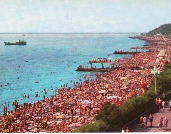 Городской пляж у Ореанды