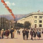 Площадь Ленина,флаги СССР