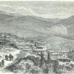 Вебер Теодор Александр 1838-1907 татарская деревня близ-Ялты. Дереккой 1878-год