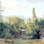 Уголок Ливадийского парка 1863 г.