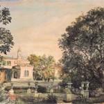 Парк в Ливадии 1863 г.