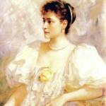 Мюллер Норден. Потрет императрицы Александры Федоровны. 1896 г.