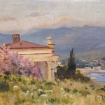 Алисов Михаил Александрович 1859-1933. Домик у моря. 1919 г