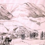 Alwin Blaue 1896-1958 Нарисовано 23.9.1943 года