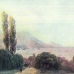 И. Айвазовский. Вид на Ялту