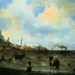 И. Айвазовский. Ялта. 1838 г