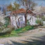 Исайченко Оксана.  Весна в Ливадии