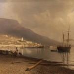 Л.Ф. Лагорио. Вид на Ялту. 1893 год.