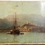 Л.Ф.Лагорио. Литография с картины Ялта с моря 1883г.