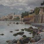 Море близ Ялты.  Брюммер Леонид Владимирович   - 1889-1971