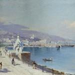 Набережная Ялты - Юнге Екатерина Федоровна (1843—1913)