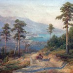 Вид Ялты-1900  Иван Вельц.
